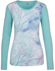 Loap Dámske tričko Belinda Aqua Splash modrá CLW17116-I07I