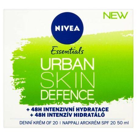 Nivea Antioxidant Day Cream Miejskie Essentials Skóra Defence SPF 20 (Krem na dzień) 50 ml