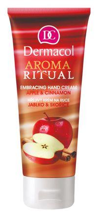Dermacol Hřejivý krém na ruce jablko a skořice Aroma ritual 100 ml
