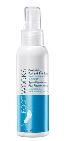 Avon Osvěžující deodorant na nohy Foot Works (Deodorising Foot & Shoe Spray) 100 ml