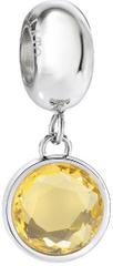 Morellato Drops nemesacél medál sárga színű kristállyal SCZ903