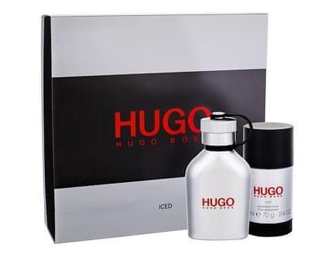 Hugo Boss Hugo Iced - EDT 75 ml + tuhý deodorant 75 ml pro muže