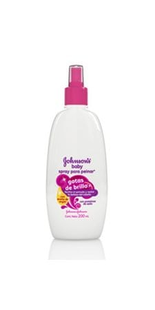 Johnson's Baby Bezoplachový kondicionér v spreji Baby (Shiny Drops) 200 ml