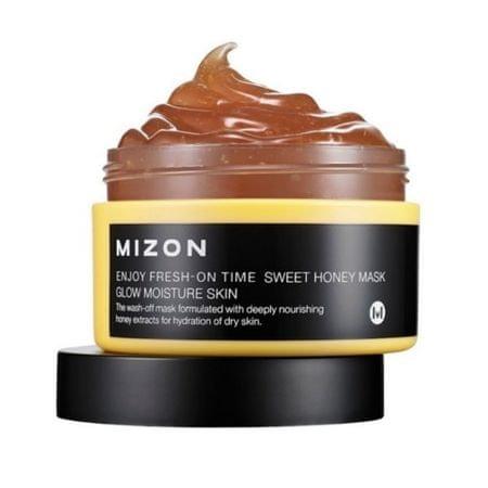 MIZON Rozjasňujúci a hydratačná maska s medom pre suchú pleť (Enjoy Fresh-On Time Sweet Honey Mask Glow Mo