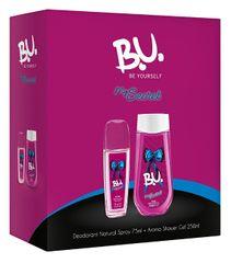 B.U. My Secret - deodorant s rozprašovačem 75 ml + sprchový gel 250 ml