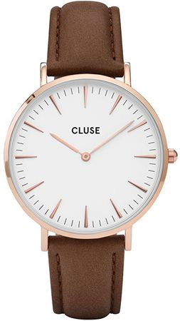 Cluse La Bohème Rose Gold White/Brown CL18010