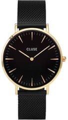 Cluse La Bohème Mesh Gold Black/Black CL18117