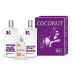 Brazil Keratin Darčeková sada pre suché a poškodené vlasy Coconut Set