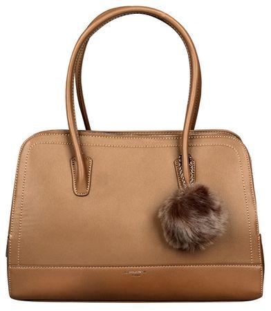 David Jones Dámska elegantná kabelka Khaki CM3562
