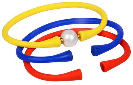 JwL Luxury Pearls Sada farebných náramkov s pravou perlou JL0329