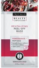 Freeman Revitalizační slupovací maska Granátové jablko a peptidy Beauty Infusion (Revitalizing Peel-Off Mask