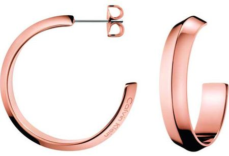 Calvin Klein Luxusní náušnice půlkruhy Shape KJ4TPE100100