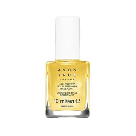 Avon paznokci złotem cząsteczki Avon prawdziwe (Base Coat) 10 ml