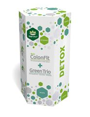 Topnatur Detox ColonFit 180 kapslí + Green Trio 180 tablet