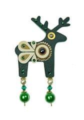 Deers Amia nagy zöld szarvas