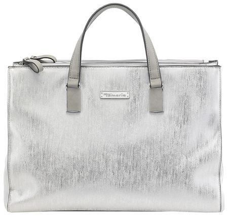 Tamaris Kabelka Nadine Business Bag 2596181-919 Silver Comb.