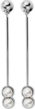 Skagen Függő fülbevaló gyöngyökkel SKJ1017040