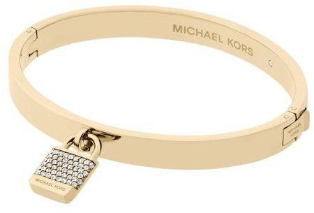 Michael Kors Złota bransoletka z kryształami i zawieszane MKJ6355710