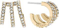 Michael Kors Luxusní náušnice s krystaly MKJ5996710