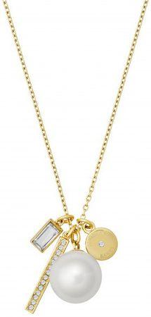 Michael Kors Jemný náhrdelník s korálkem a krystaly MKJ6668710