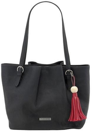 Tamaris Kabelka Natalie Shopping Bag 2499181-001 Black