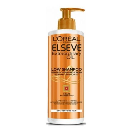 L'Oréal Elseve Extraordinary Oil hajápoló krém-sampon(Low Shampoo Gentle Cleansing Cream) 400 ml