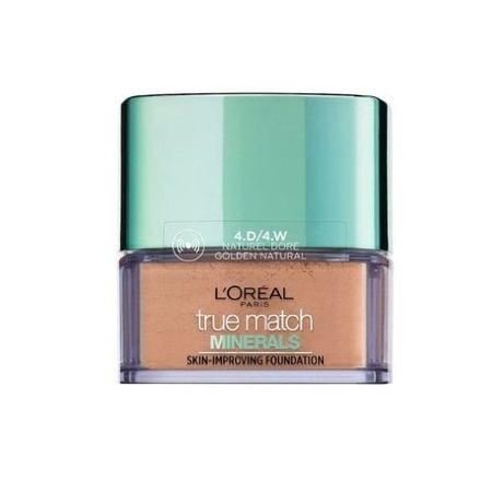 L'Oréal Lehký minerální pudrový make-up True Match (Skin Improving Foundation) 10 g (Odstín 3N Beige Cream)