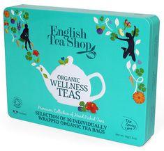 English Tea Shop Dárková sada čajů 36 sáčků/6 příchutí - bleděmodrá