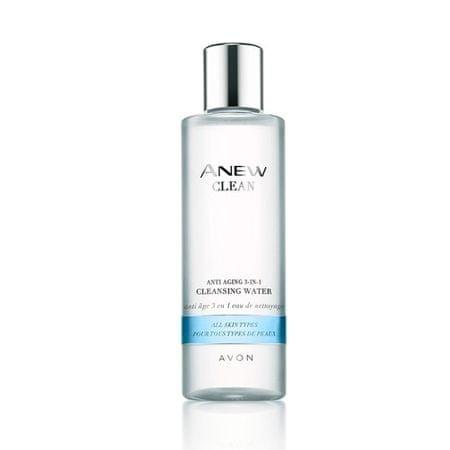 Avon Čistiaca pleťová voda s omladzujúcim účinkom 3v1 pre všetky typy pleti Anew Clean ( Cleansing Water)