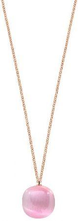 Morellato Nežný náhrdelník zdobený mačacím okom SAKK05 striebro 925/1000