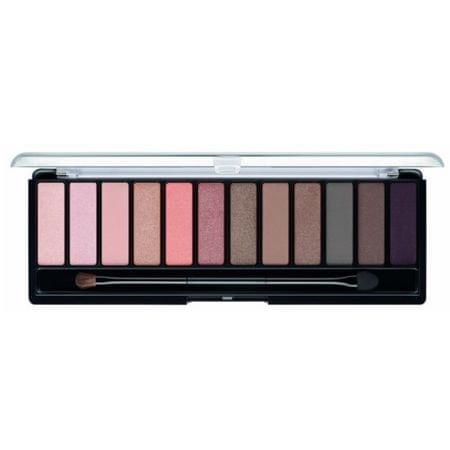 Rimmel Palette 12 eyeshadows MagnifEyes (szemhéjárnyaló paletta) 14 g (árnyék 002 Blush Edition)