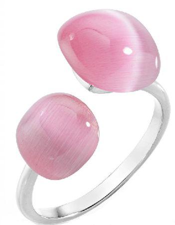 Morellato Něžný prsten zdobený kočičím okem SAKK34 (Obvod 54 mm) stříbro 925/1000