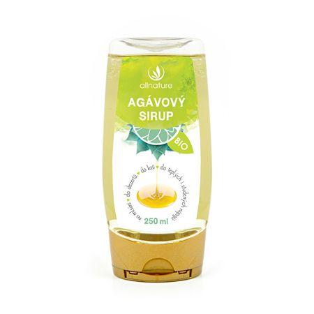 Allnature Agávový sirup bio 250 ml