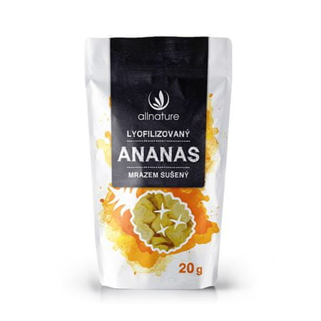 Allnature Lyofilizovaný ananás 20 g