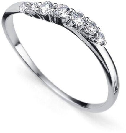 Oliver Weber Petite ezüst gyűrű kristályokkal 63227R (áramkör L (56 - 59 mm)) ezüst 925/1000