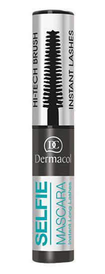 Dermacol Wydłużający tusz do rzęs, efekt sztucznych rzęsSelfie Mascara 6 ml