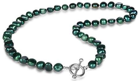 JwL Luxury Pearls Smaragzöld igazgyöngy nyaklánc JL0366
