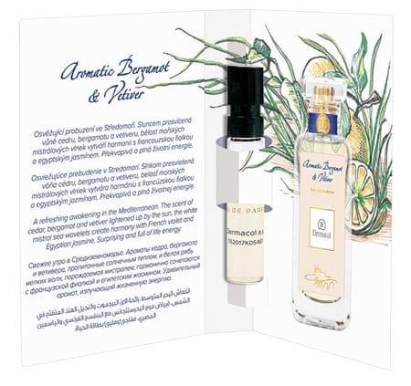 Dermacol Perfum aromatyczny Bergamot i wetiwerii pachnącej Tester 2 ml