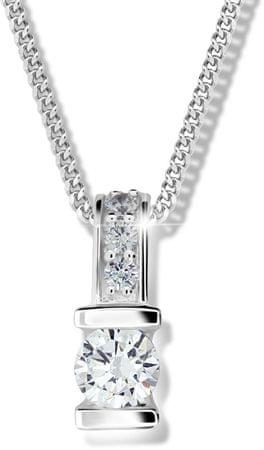 Modesi Strieborný náhrdelník pre ženy M41094 striebro 925/1000