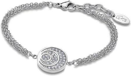 Lotus Style bransoleta ze stali z Crystalkami LS1871-2 / 1