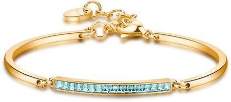 Brosway bransoleta ze stali z kryształkami Chakra BHK99