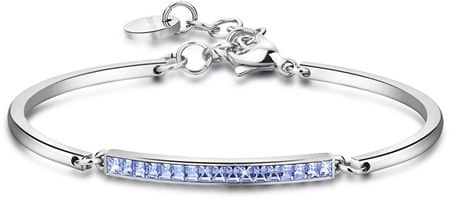 Brosway Nemesacél karkötő kristályokkal Chakra BHK95