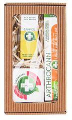 Annabis Dárkové balení pro dokonalou úlevu - Arthrocann 75 ml + Dolorcann 80 ml + Cannol 30 ml