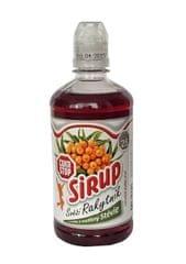 CukrStop sirup se sladidly z rostliny stévie - příchuť rakytník