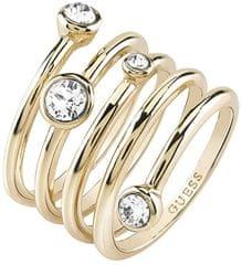 Guess Luxusné špirálovitý prsteň UBR84056 c99c8f0b92a