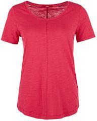s.Oliver Dámske tričko 04.899.32.4007 .4561 Dazzling Pink