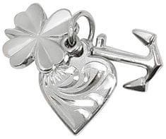 Brilio Silver Ezüst medál szerelem, a boldogság, a remény 441 001 00 005 04-1,15 g ezüst 925/1000