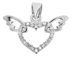 Brilio Silver Szív szárnyakkal ezüst medál 446 158 00041 04-1,10 g ezüst 925/1000