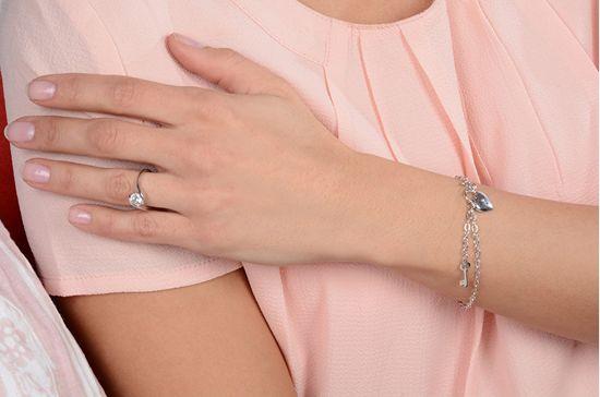 Brilio Silver Srebrni zaročni prstan 426 001 00422 04 srebro 925/1000