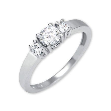 Brilio Silver Ezüst gyűrű kristályok 426 001 00 498 04-2,03 g (áramkör 50 mm) ezüst 925/1000